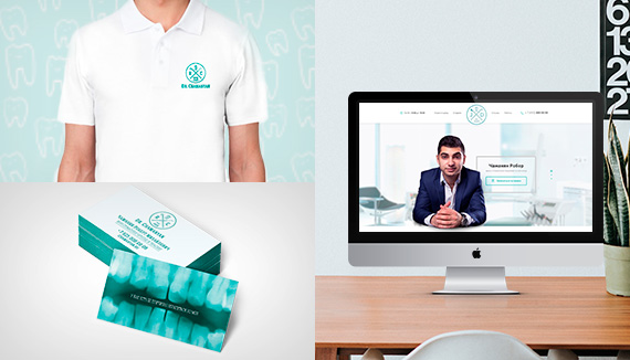 Разработка персонального сайта врача-стоматолога - chamanyan.ru