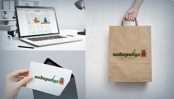 """Разработка сайта для маркета-подарков """"Подарибуз"""""""